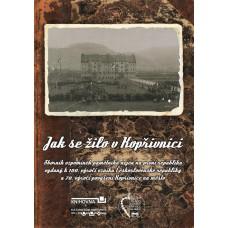 Kniha - almanach Jak se žilo v Kopřivnici