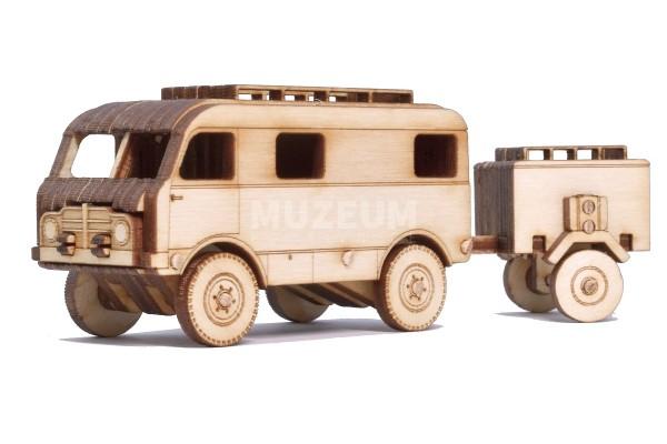 Dřevěný model TATRA 805 Z+H