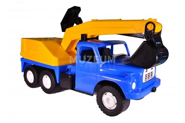 Plastové auto T 148 bagr