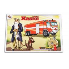 Omalovánka pro děti - hasiči