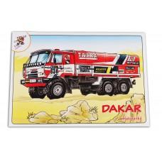 Omalovánka pro děti - Dakar