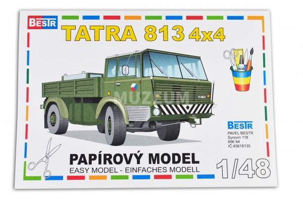 Vystřihovánka model T 813 4x4