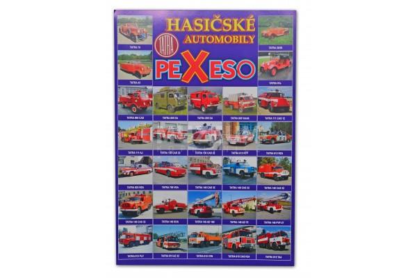 Pexeso - Hasičské automobily fotografie