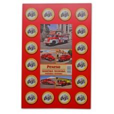 Pexeso - hasičská technika