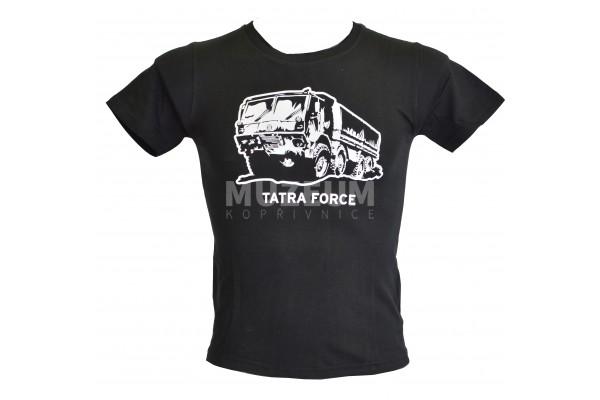 Triko dětské Tatra force - černá