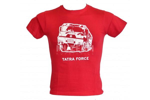 Tričko dětské Force - vínové