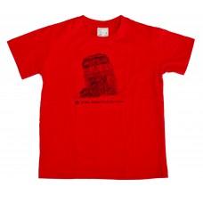 Dětské triko Dakar červené