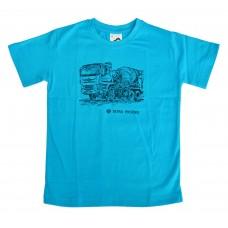 Dětské triko domíchávač - tyrkys