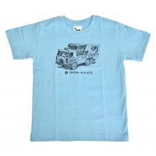 Dětské triko GTC světle modré