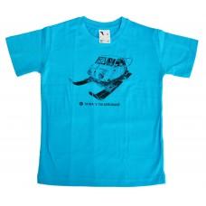 Dětské triko Aerosaně - tyrkysové