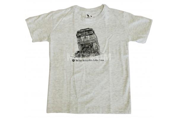 Dětské triko Dakar šedé