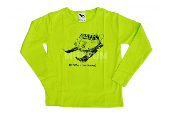 Dětské triko dlouhý rukáv - aerosaně