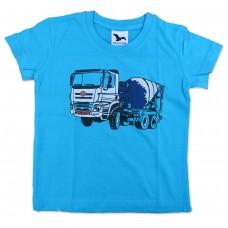 Dětské triko modré, domíchávač modrý