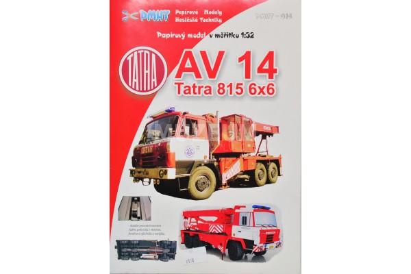 Vystřihovánka T 815 6x6 AV 14