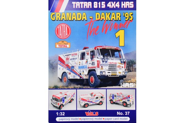 Vystřihovánka T815 4x4 HAS GRANADA - DAKAR 95