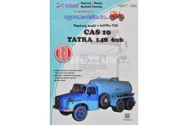 Vystřihovánka CAS 10 TATRA 148 6x6