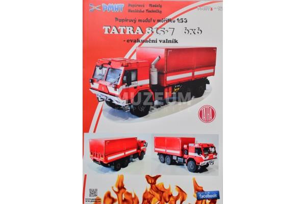 Vystřihovánka Tatra 815-7 6x6
