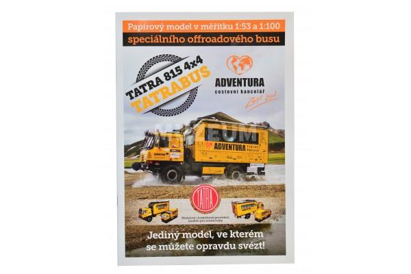 Vystřihovánka Tatrabus