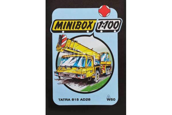 Vystřihovánka minibox T 815 AD 28