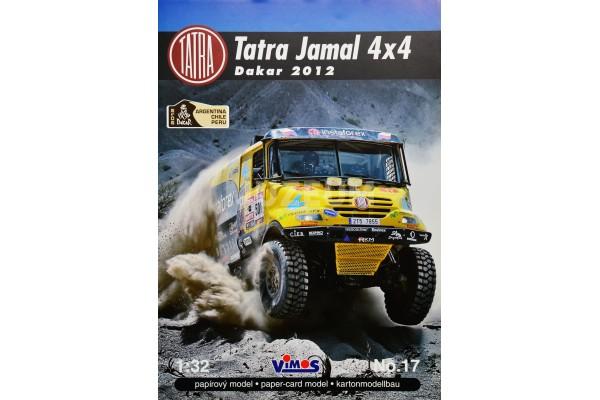 Vystřihovánka Tatra Jamal 4x4 Dakar 2012