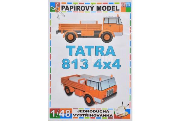 Papírový model TATRA 813 4x4