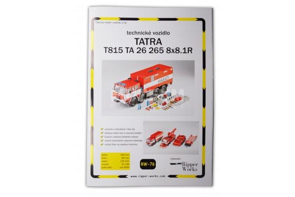 Papírový model T 815 TA 26 265 8x8