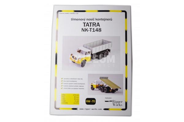 Papírová model Tatra NK - T148