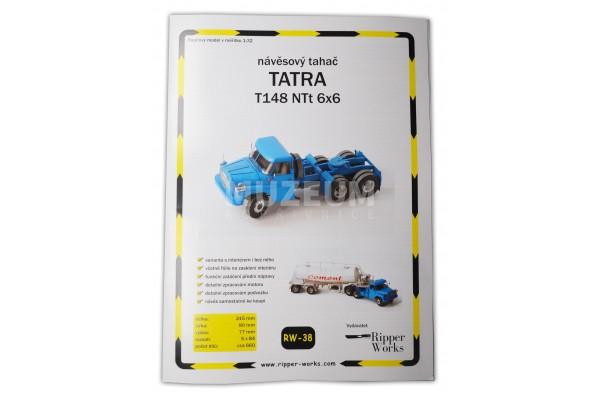 Papírový model T 148 NTt 6x6