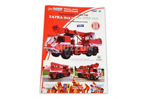Vystřihovánka Tatra 815-7 6x6 UDS 214