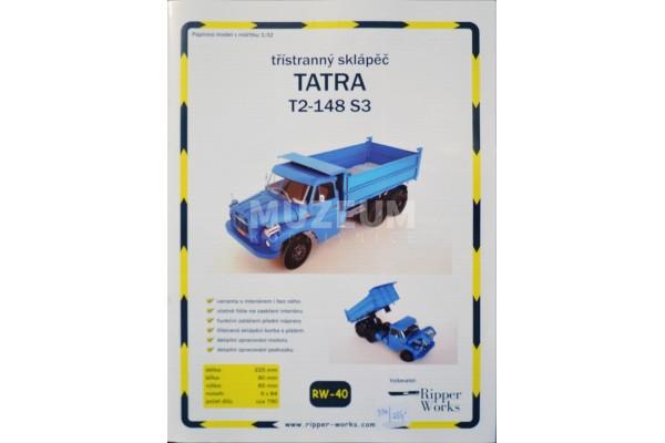 Vystřihovánka Tatra T2-148 S3