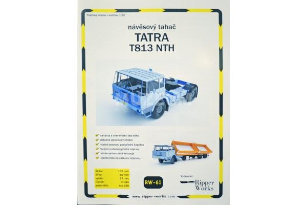 Vystřihovánka Tatra T813 NTH