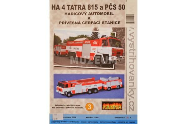 Vystřihovánka T 815 a PČS 50