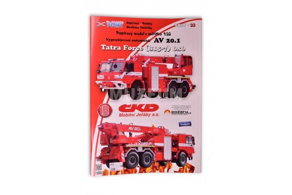 Vystřihovánka Tatra Force 815-7 6x6