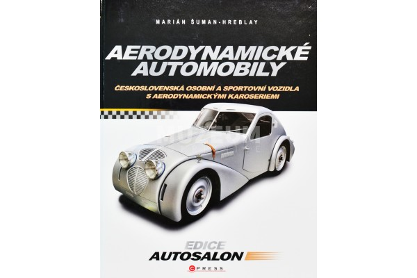Kniha Aerodynamické automobily