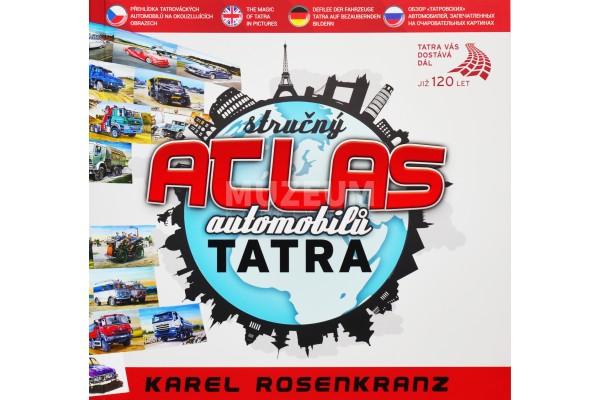 Kniha Atlas automobilů Tatra