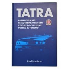 Kniha Tatra osobní vozy cizojazyčná verze