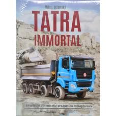 Kniha Nesmrtelná Tatra, anglická verze