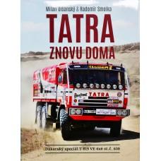 Kniha Tatra znovu doma