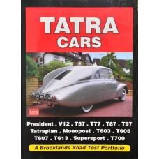 Kniha Tatra cars, anglická verze