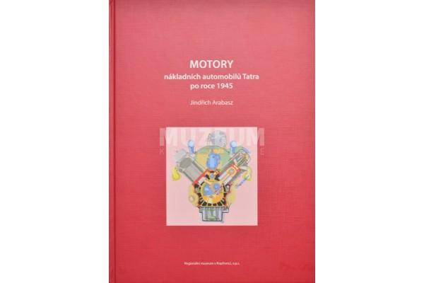 Kniha Motory nákladních automobilů Tatra po roce 1945