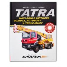 Kniha Tatra nákladní a užitková vozidla, autobusy a trolejbusy