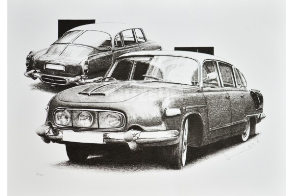 Kresba tužkou T 603 maska
