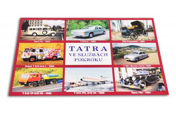 Pohlednice Tatra ve službách pokroku