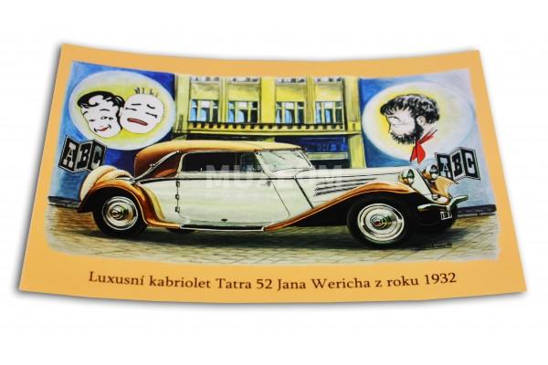 Pohlednice T 52 J. Werich