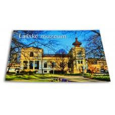 Pohlednice Lašské muzeum v Šustalově vile