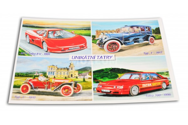 Pohlednice Unikátní Tatry