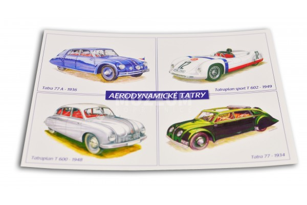 Pohlednice Aerodynamické Tatry
