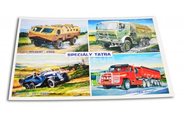 Pohlednice Speciály Tatra