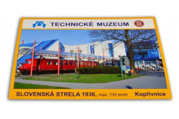Pohlednice Slovenská Strela