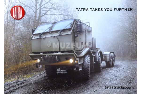 Plakát Tatra vojenská